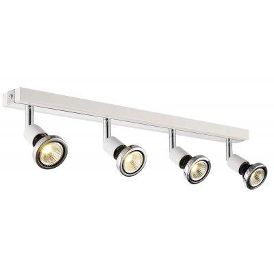 Plafondlamp robus-4 wit (incl. led)