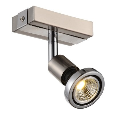 Plafondlamp robus-1 satin (incl. led)