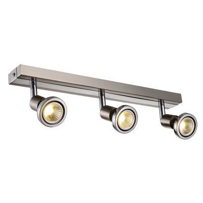 Plafondlamp robus-3 satin (incl. led)