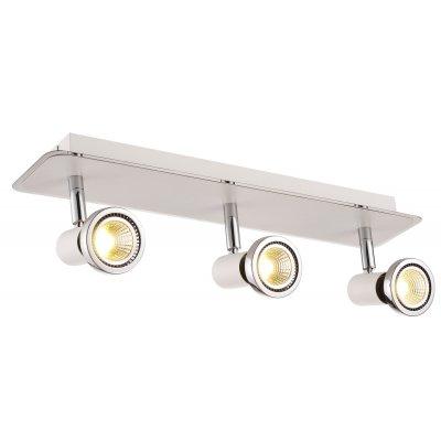 Plafondlamp xzibit-3 wit (incl. led)