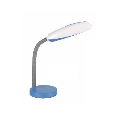 Tirza bureelllamp blauw incl e27 11w