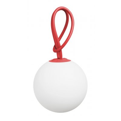 Bolleke hanglamp rood