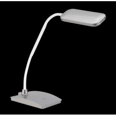Bureaulamp zilver (incl. led)