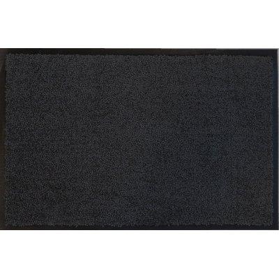 Voetmat eco clean zwart 40x60cm