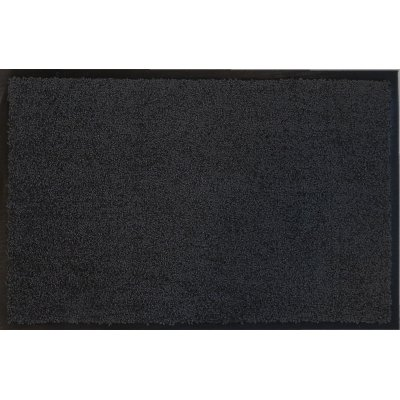 Voetmat eco clean zwart 60x90cm