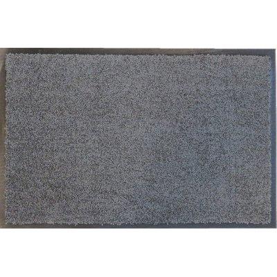 Voetmat eco clean grijs 60x180cm