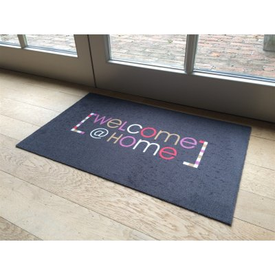 Voetmat deco style welcome@home 40x60cm