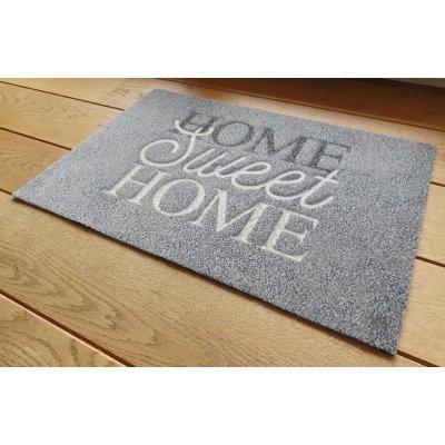 Voetmat deco style home sweet home 50x80cm