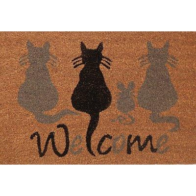 Voetmat katten (40x60cm)