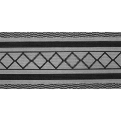 Deurmat graphics grijs (65x180cm)