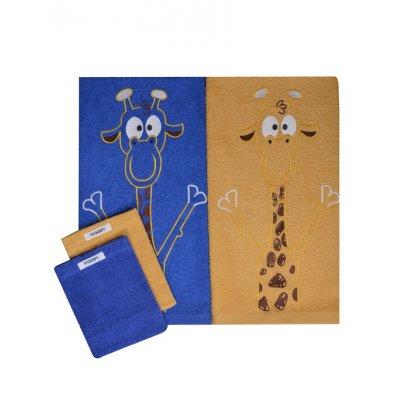 Handdoek duo pack woody