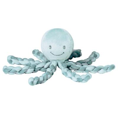 Lapidou knuffel octopus groen