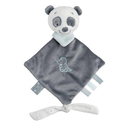Mini knuffeldoek loulou, de panda