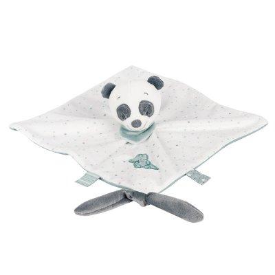 Knuffeldoek loulou, de panda