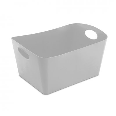 Opbergbox boxxx soft grey 15l