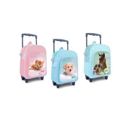 Rugzak trolley kat/hond/paard