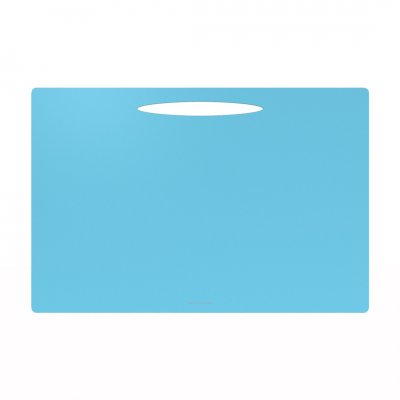Onderlegger quattro colori blauw