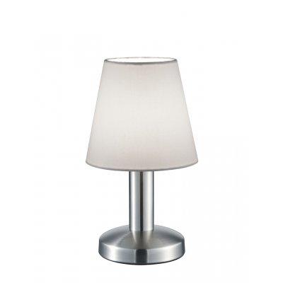 Tafellamp mats wit (excl. lamp)