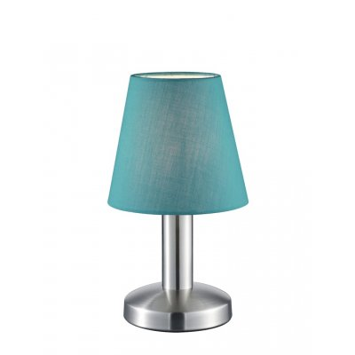 Tafellamp mats turquoise (excl. lamp)