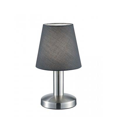 Tafellamp mats grijs (excl. lamp)