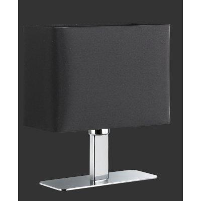 Tafellamp chroom/zwart