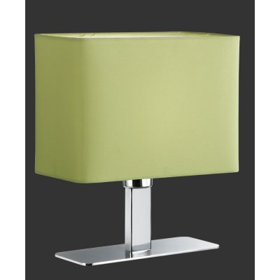 Tafellamp chroom/limegroen