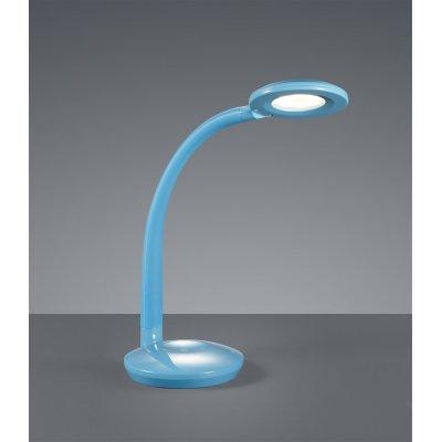 Bureaulamp blauw incl led
