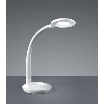 Bureaulamp cobra wit (incl. led)