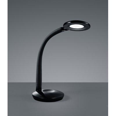 Bureaulamp zwart incl led