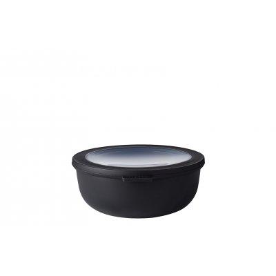 Opbergdoos nordic zwart 1,25l