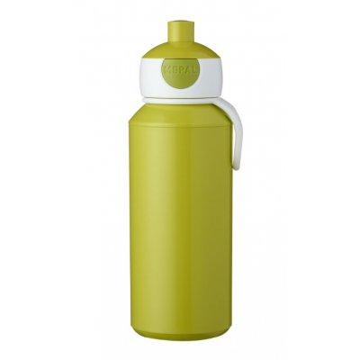 Pop-up drinkfles lime