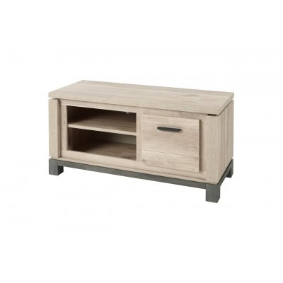 Tv-meubel met 1 lade (129,7cm)