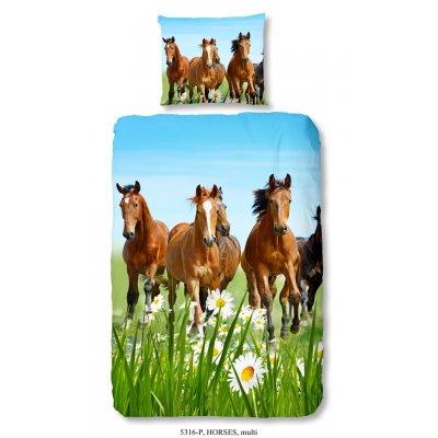 Overtrek eennpersoons paard (140x220)