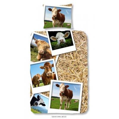 Overtrek eennpersoons cows (140x220)