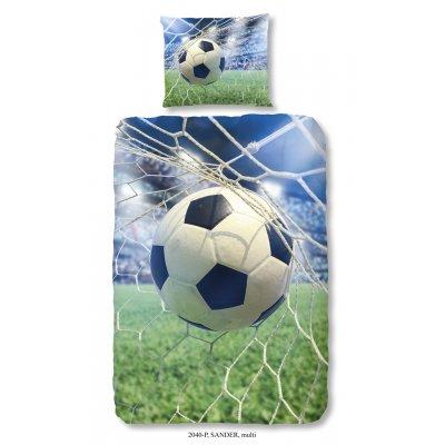 Overtrek eenpersoons voetbal (140x220)