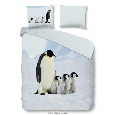 Overtrek tweepersoons pinguins (200x220)