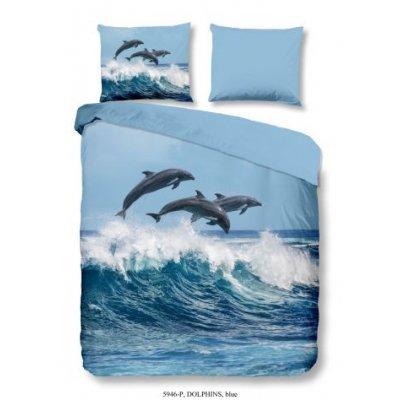 Overtrek tweepersoons dolfijn (200x220)