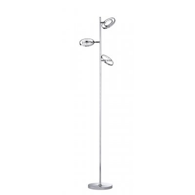 Staanlamp chroom  led