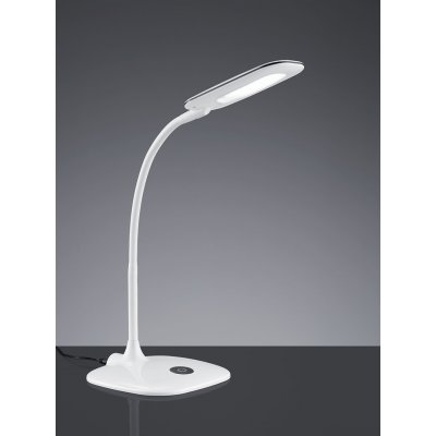Bureaulamp touch wit (incl. led)