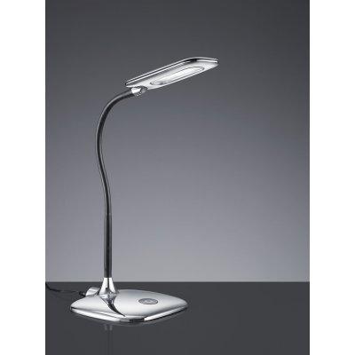 Bureaulamp touch chroom led