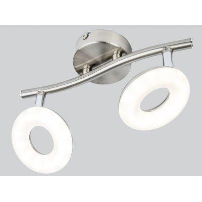 Plafondlamp nikkel 25cm led