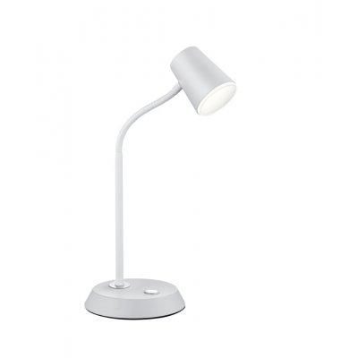 Bureaulamp narcos wit (incl. led)