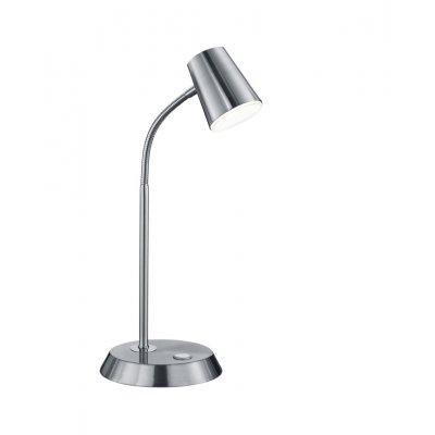 Bureaulamp nikkel incl led