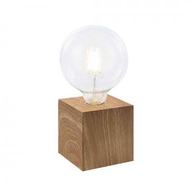 Tafellamp licht hout