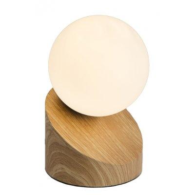 Tafellamp houten voet
