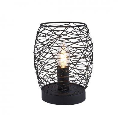 Pau tafellamp zwart