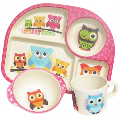 Owls eetset 3dlg.