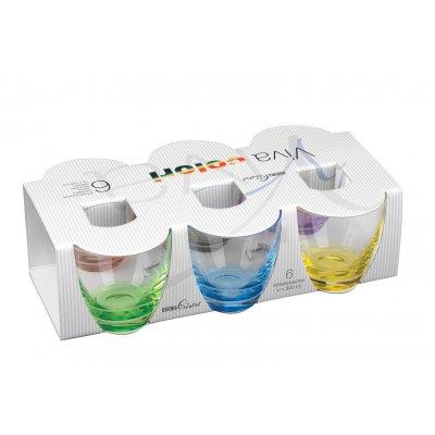 Glas kleuren (set van 6)
