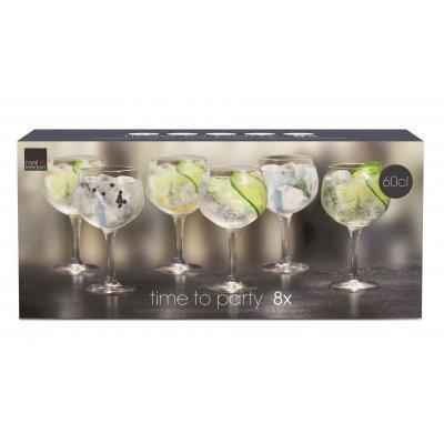 Set gin & tonic glazen (8 glazen)
