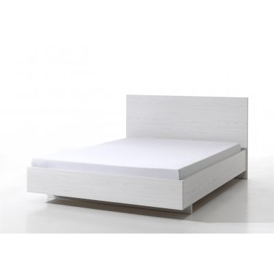 Bed wit (incl. middenlat) - 160x200